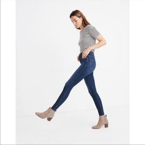 """Madewell 10"""" tall High-Rise Skinny Jeans 26"""